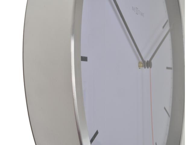 NXT Wandklok aluminium modern design