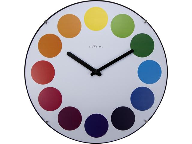 NXT Wandklok Rainbow modern design