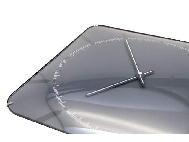 NXT Wandklok GREY modern Design