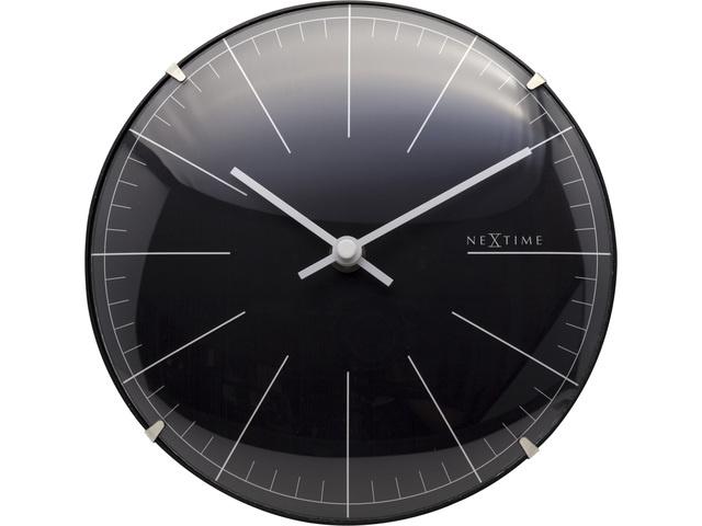 NXT Wandklok Black modern design