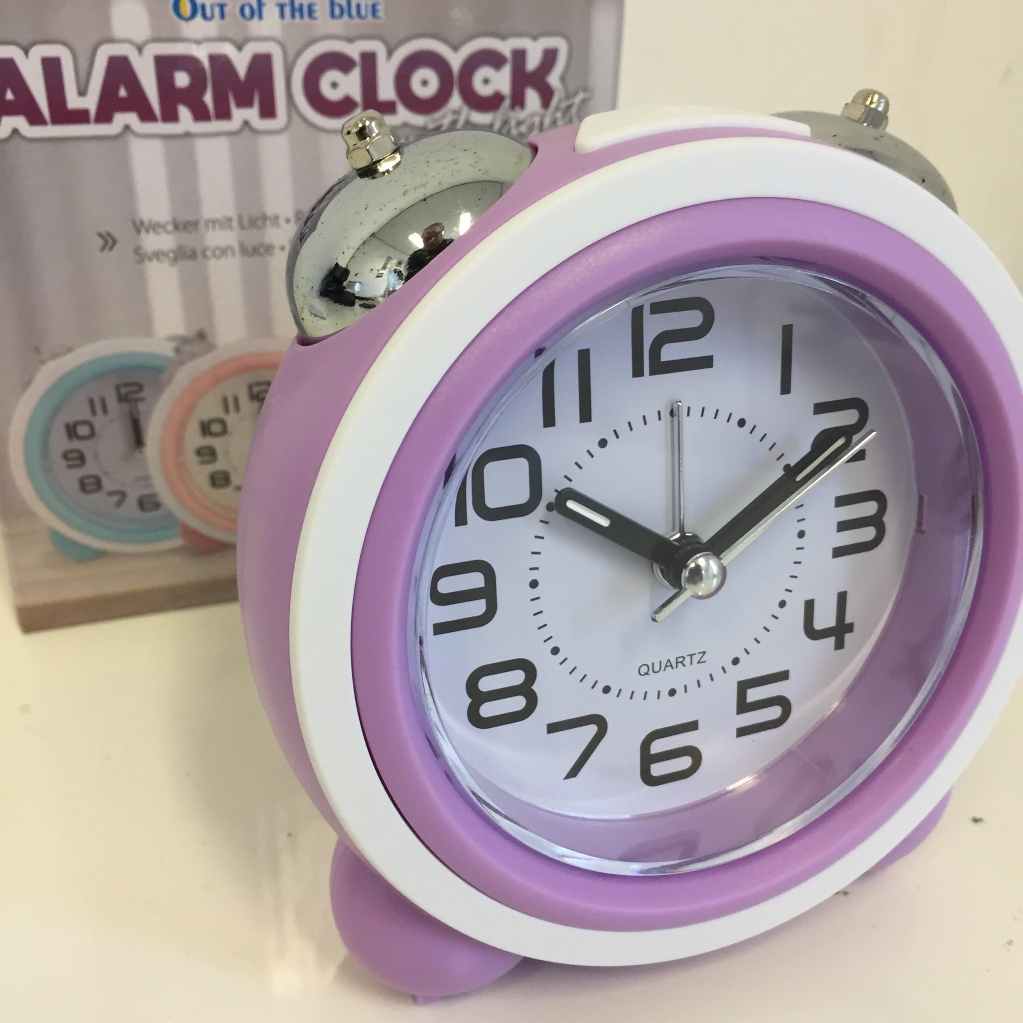 Saramax Kinder wekker BELLS Purple