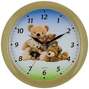 Saramax Kinder wandklok teddy