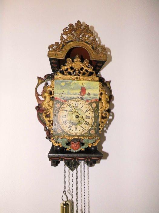 NiceTime Friese stoelklok 1900 antiek