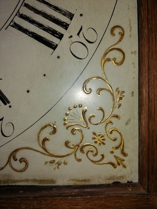 Staande klok - J.D. Bright, Saxmundham - Hout, Eiken - 18e eeuw