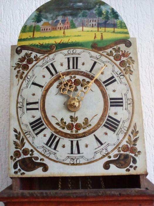 NiceTime Antieke friese staartklok - eikenhout 1850