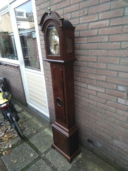 Staande klok Mahonie Nederland