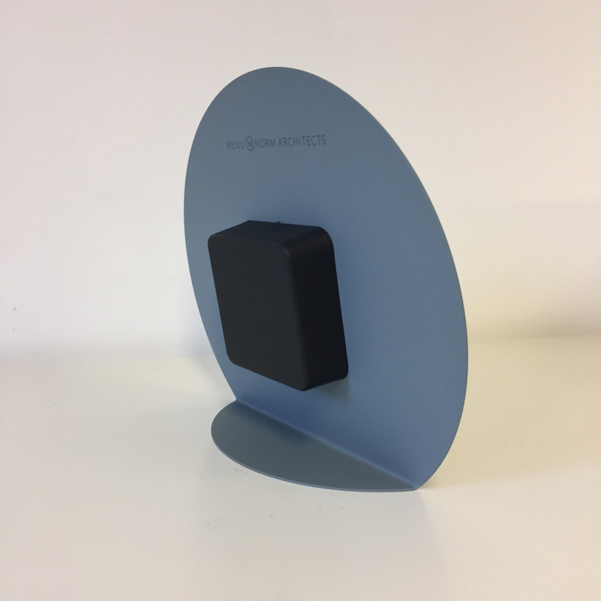 ChantalBrandO Tafelklok Norma GREY modern design