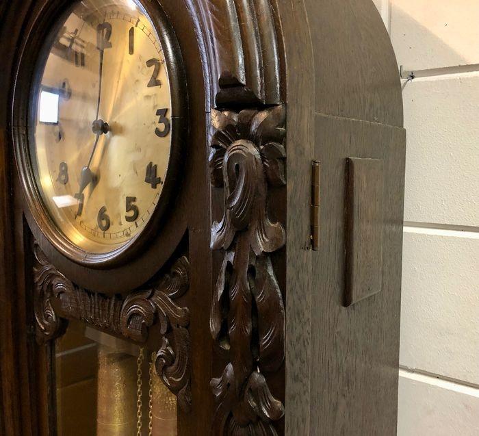 Antieke staande klok imposant formaat