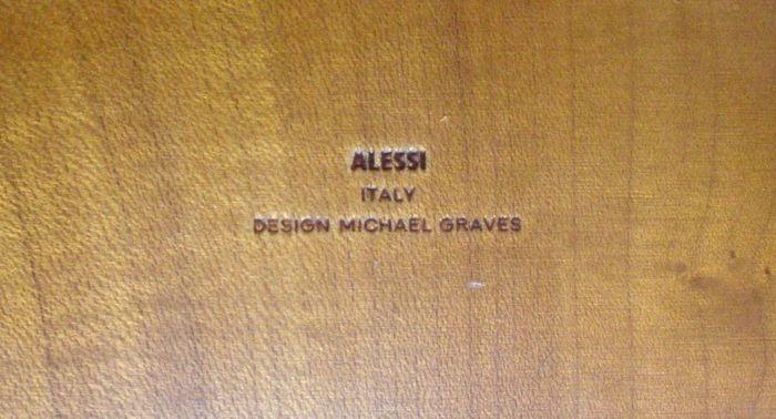Tafelklok Alessi DESIGN