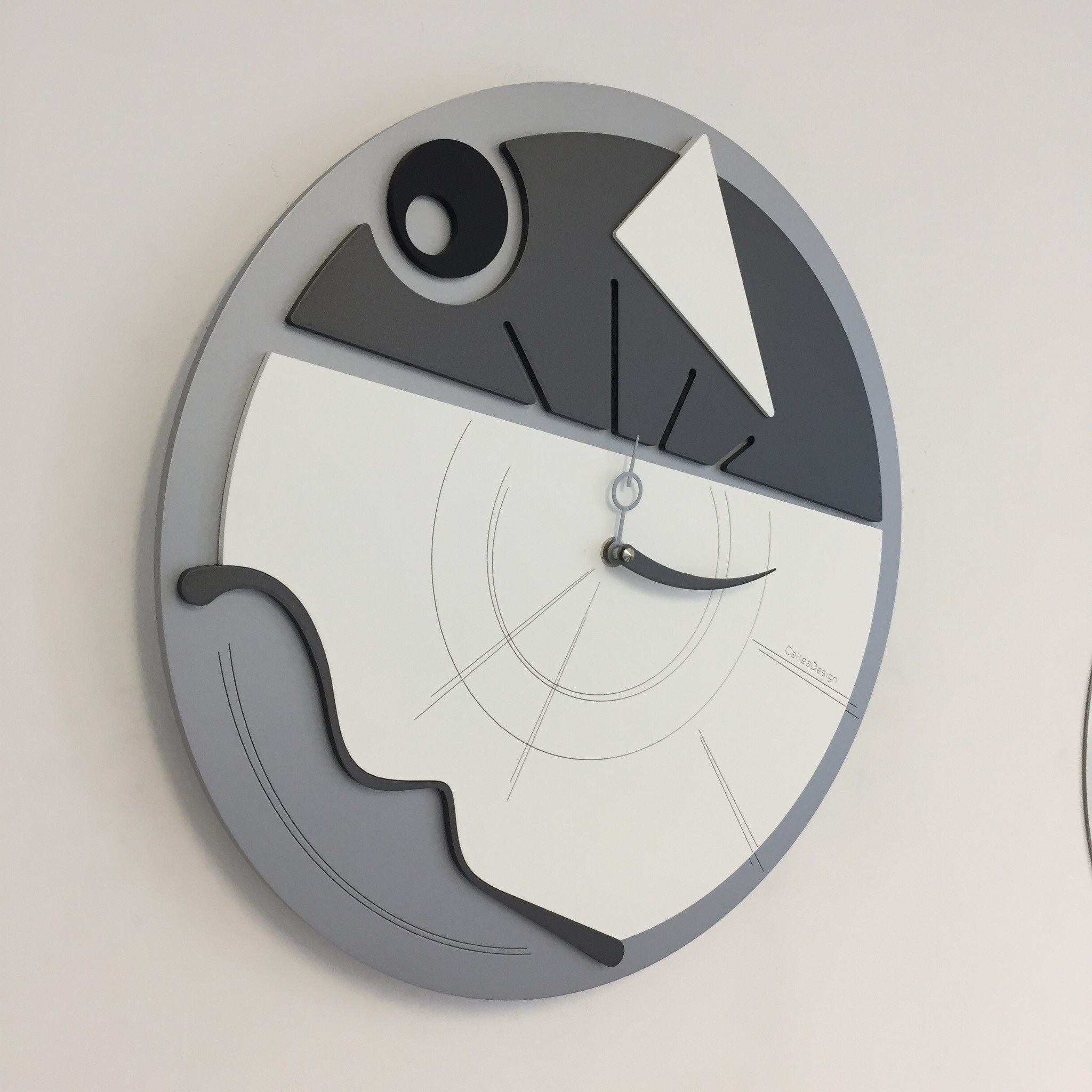 Callea Wandklok ART grijs