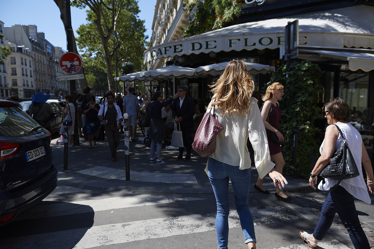Café de Flore, Garrett Leight, Objet Trouve