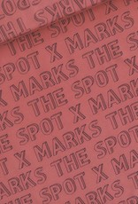 See You at Six French terry X marks the spot marsala rood