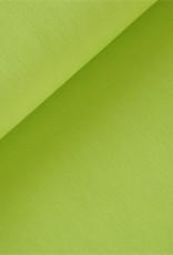 Soft Cactus Poplin katoen Uni - limoengroen