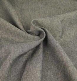 stretch jeans uni donker grijs