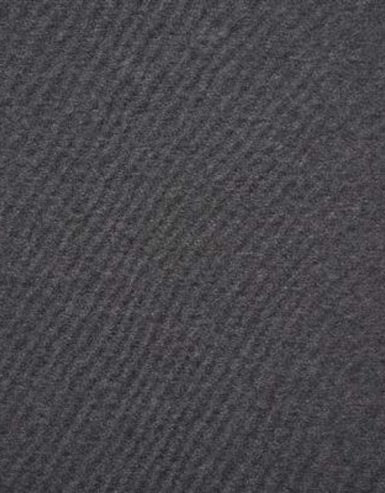 Poppy French terry uni donker grijs