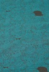Tricot melange mouse groen grijs