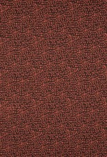 Poplin dots brown-stone