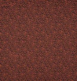Poplin dots brown-stone