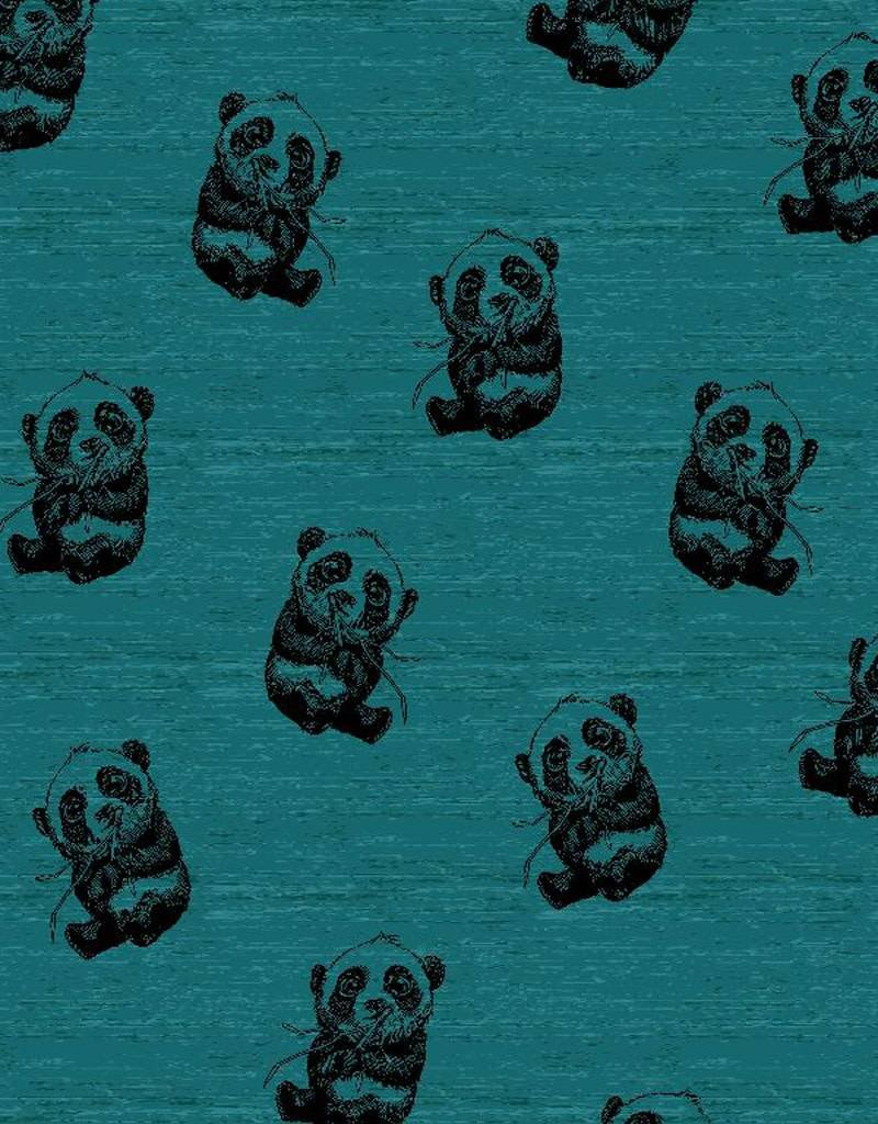 Poppy Tricot panda dream blauw