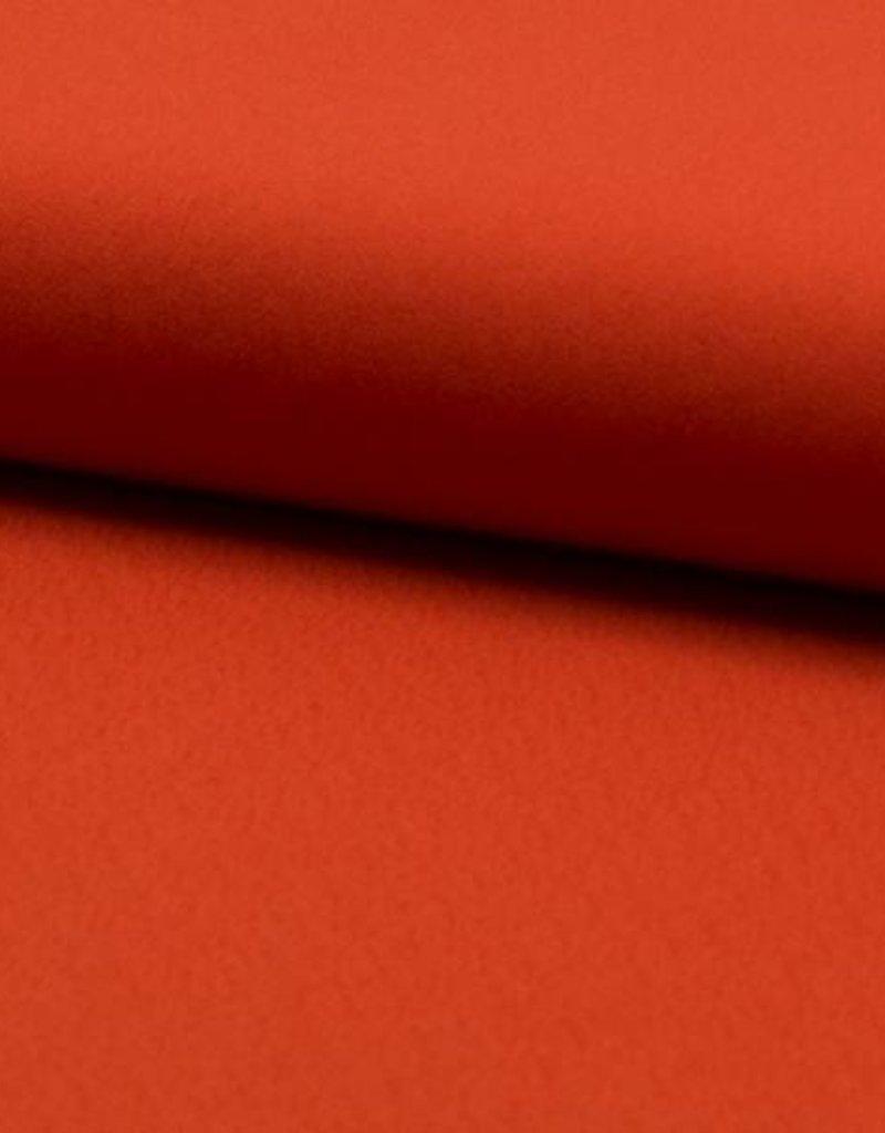 Crepe tricot oranje