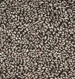 *Jacquard tricot mini zwart bruin