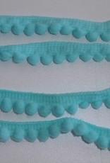 Bolletjesband 7mm mini hemelsblauw