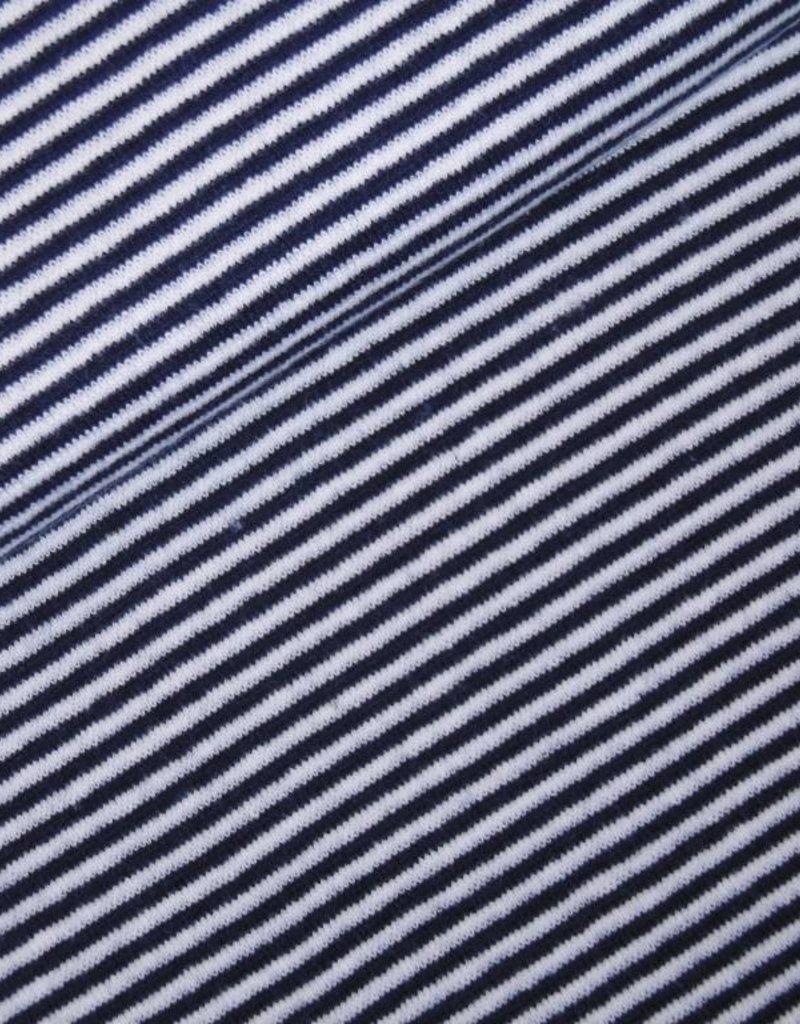 Boordstof Strepen Blauw/Wit
