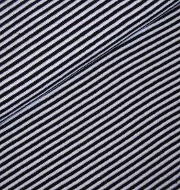 Boordstof Strepen Zwart/Wit