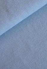 Boordstof uni licht blauw