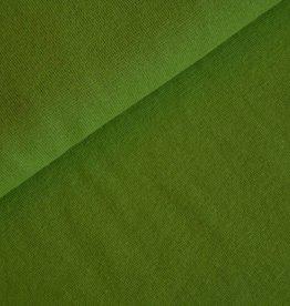 Boordstof uni lime groen