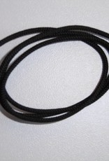 koord zwart 2mm