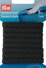 Prym STANDAARD ELASTIEK 7mm ZWART 5m