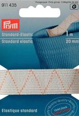 Prym STANDAARD ELASTIEK 20mm WIT 1m