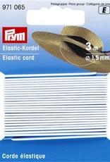 Prym ELASTISCHE KOORD 1,5mm WIT 3m