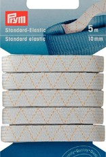 Prym STANDAARD ELASTIEK 10mm WIT 5m