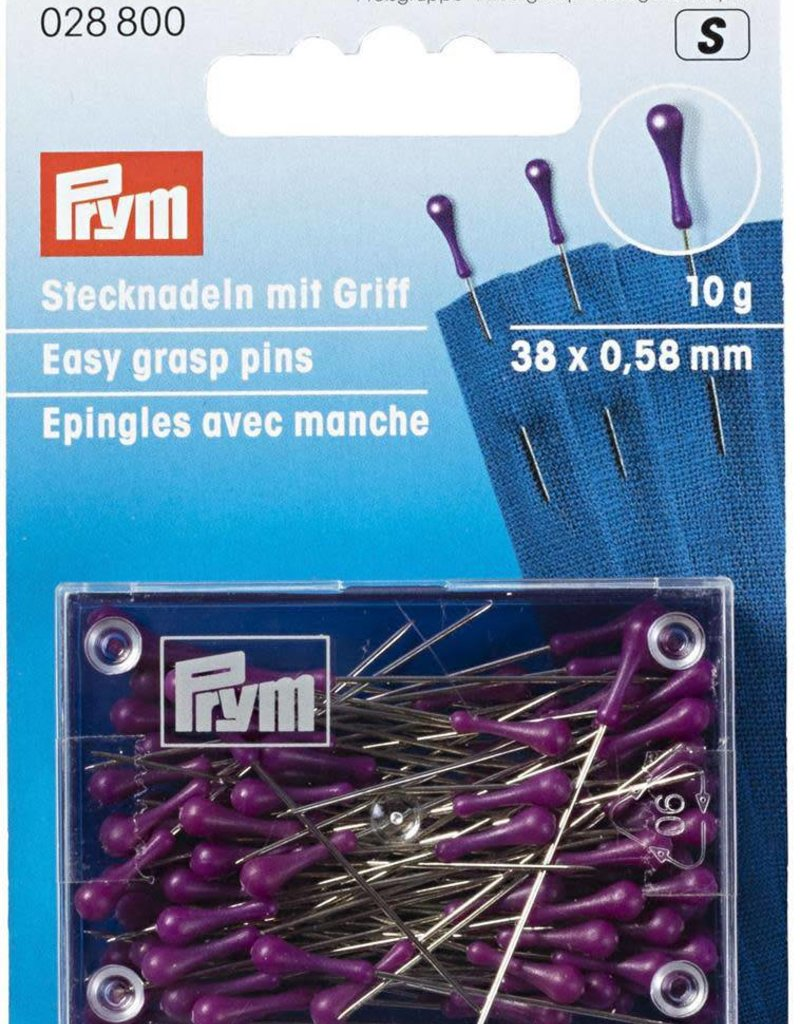 Prym SPELDEN MET HANDVAT 38x0.58m ZIL- PAARS (10g)