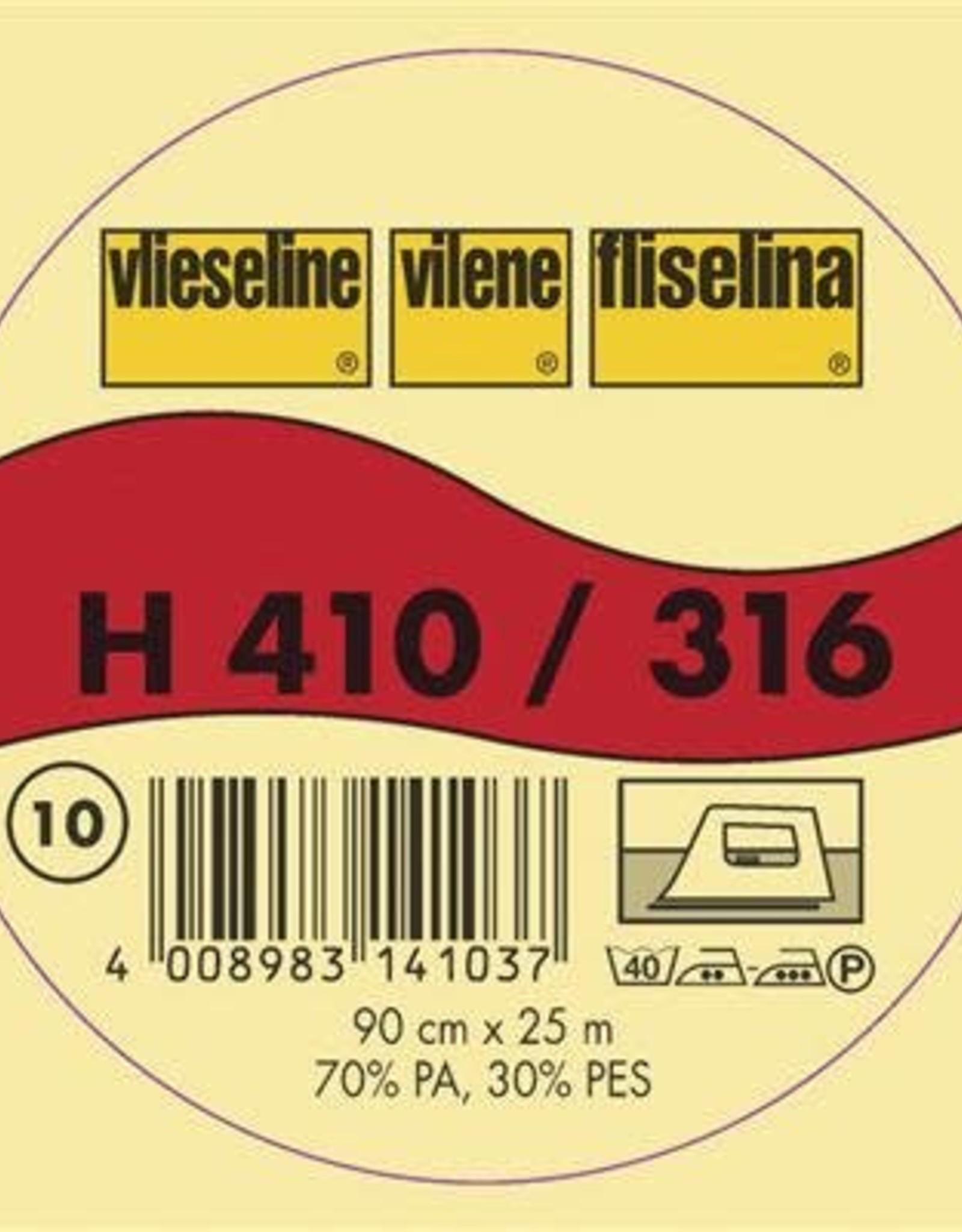 Vlieseline H410 PLAKBARE TUSSENVOERING WIT 90cm