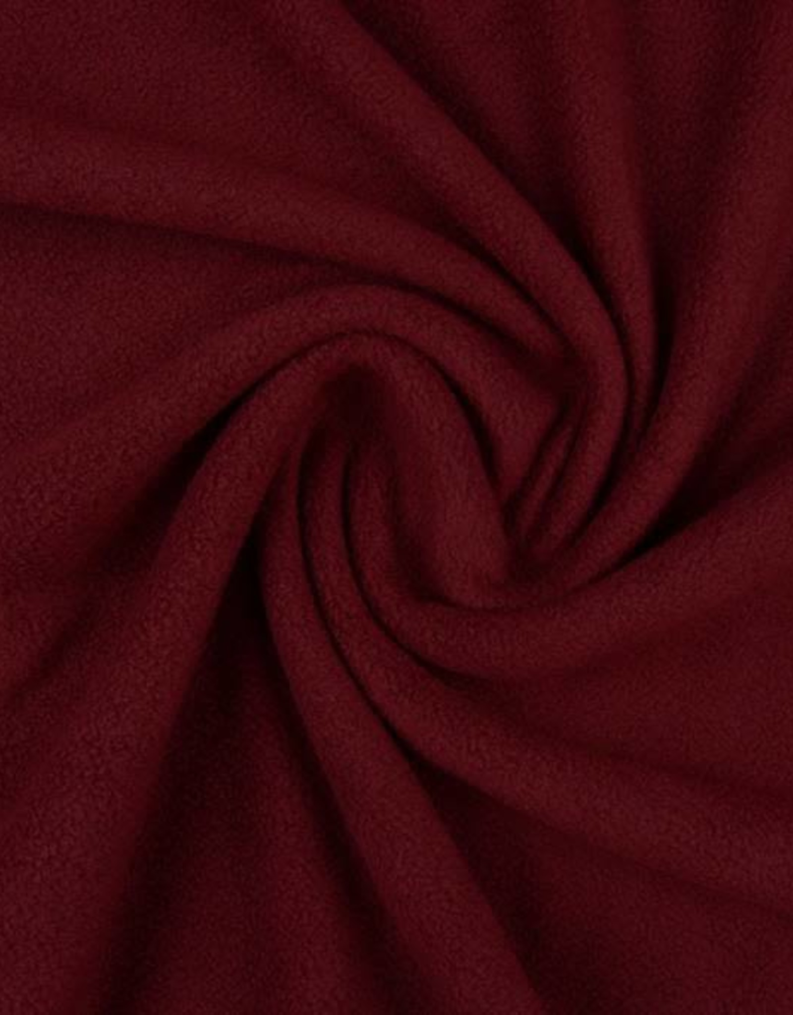 Polar fleece uni bordeaux