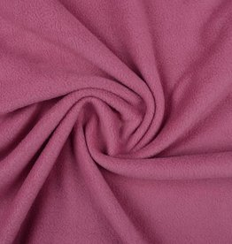 Polar fleece uni oud roze