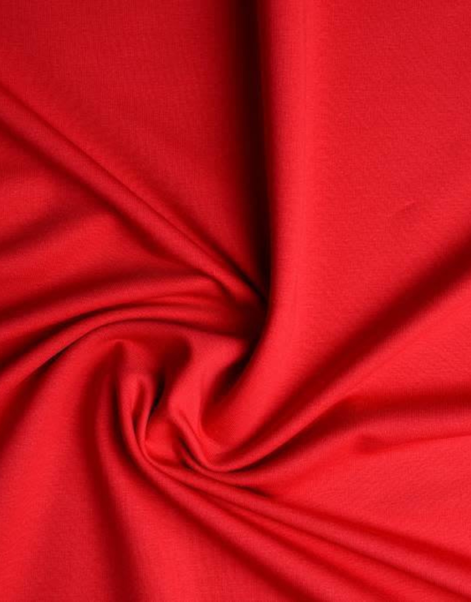 *French terry uni rood