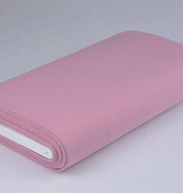 Boordstof uni poeder roze