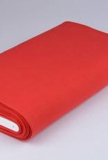 Boordstof uni rood