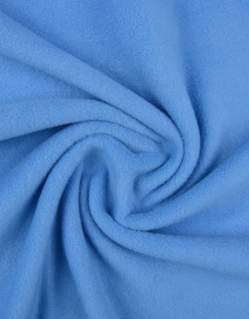 Polar fleece uni baby blauw