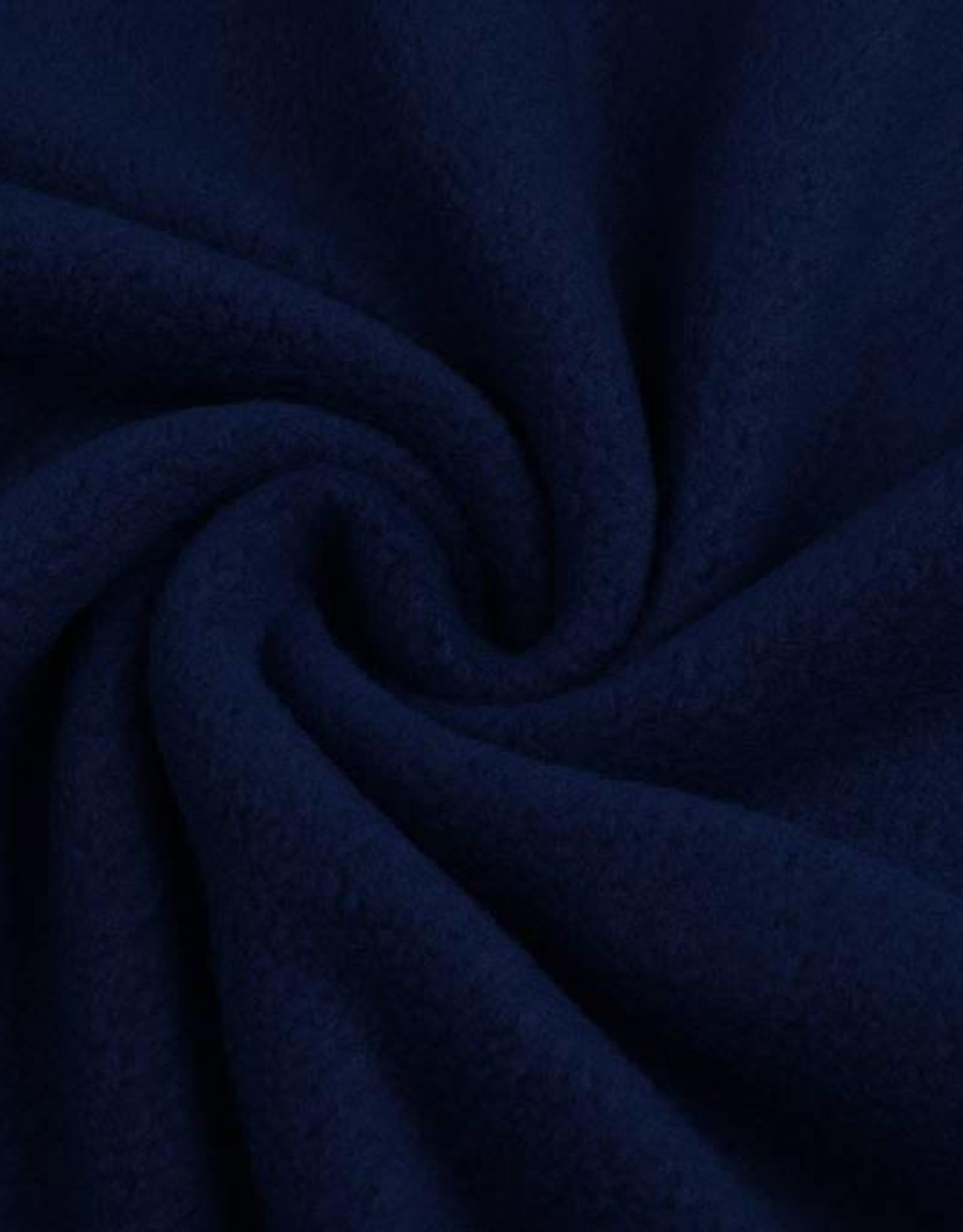 Polar fleece uni donker blauw