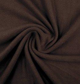 *Polar fleece uni donker bruin