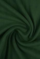 *Polar fleece uni donker groen
