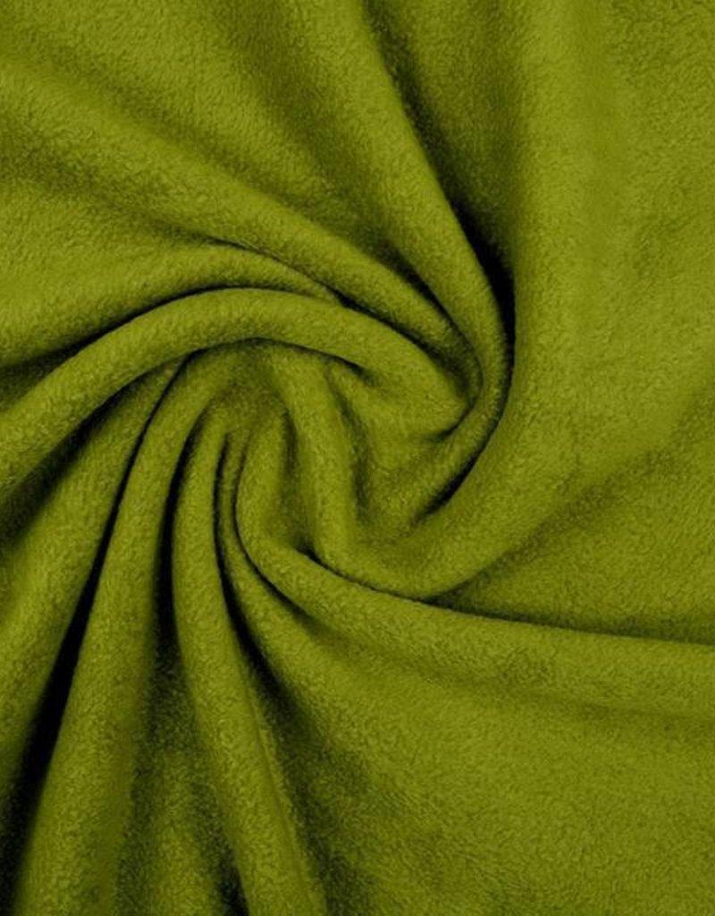Polar fleece uni groen