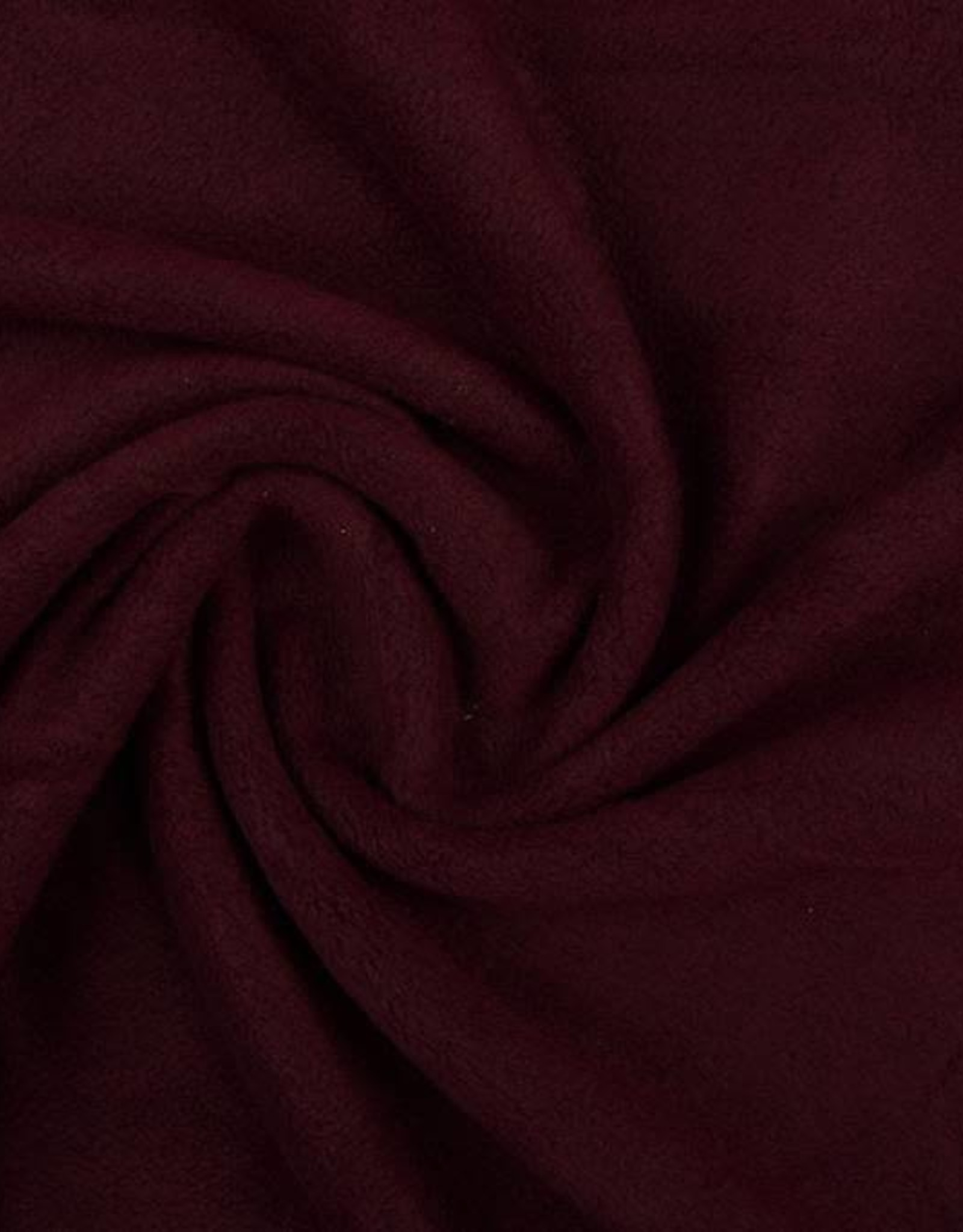 Polar fleece uni aubergine