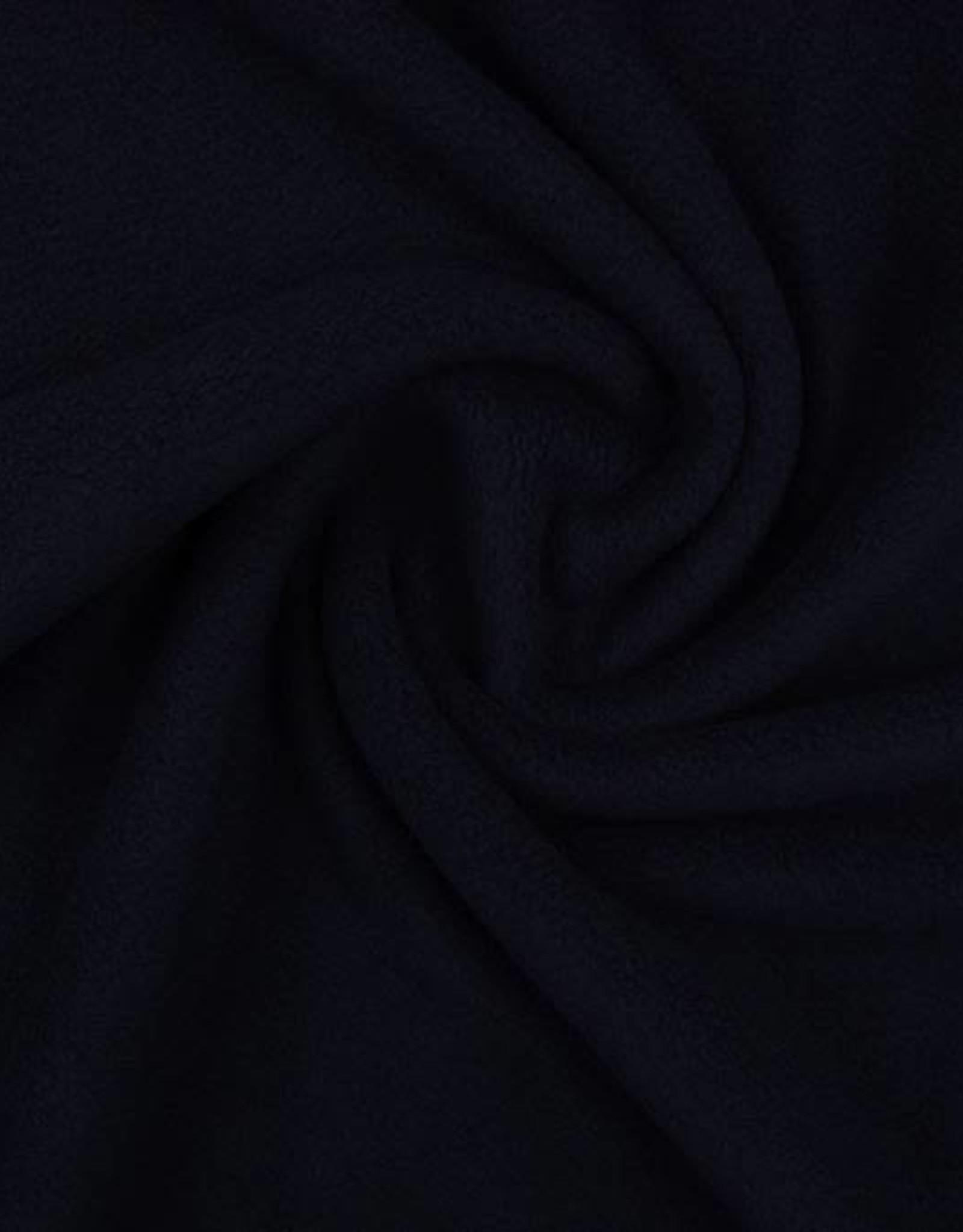 Polar fleece uni zwart