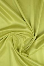 Charmeuse voering lime groen